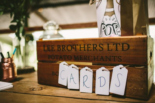 Creative Ways To Use Luggage Tags At Your Wedding Katie and Ashley, Married | Cripps Stone Barn, Cheltenham | © www.samueldocker.co.uk 2014