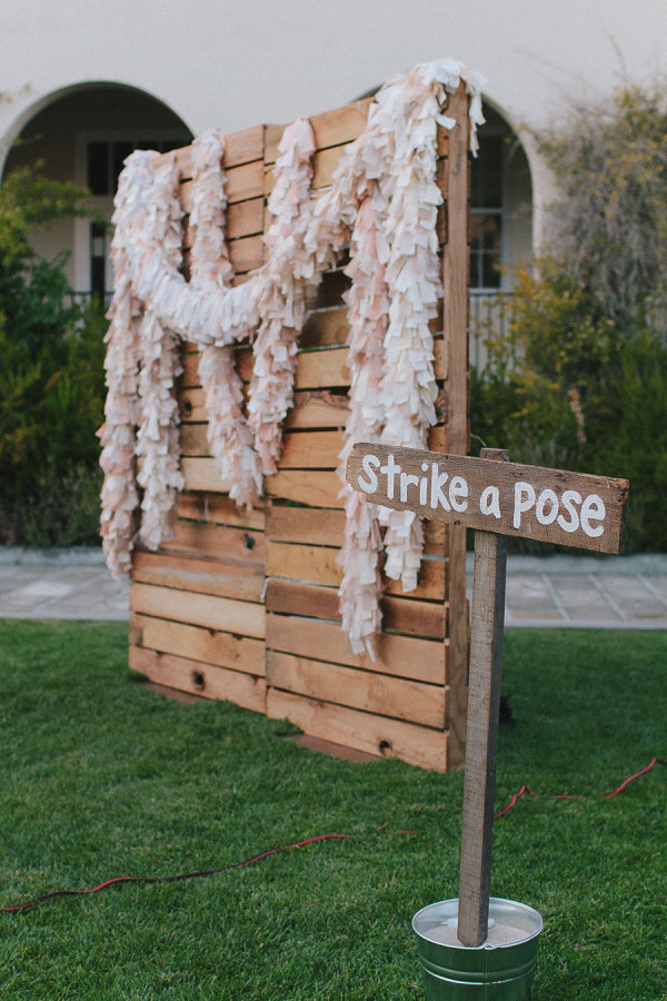15 Wooden Pallet Wedding Ideas stylemepretty.com - jakeandnecia.com