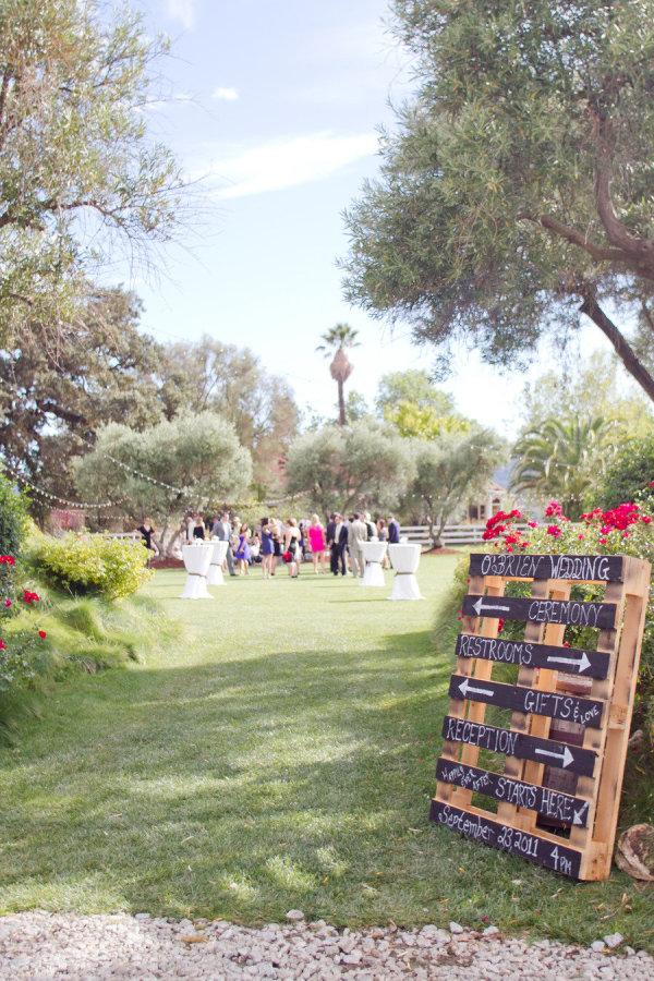 15 Wooden Pallet Wedding Ideas stylemepretty.com - thecollectivephotographers.com
