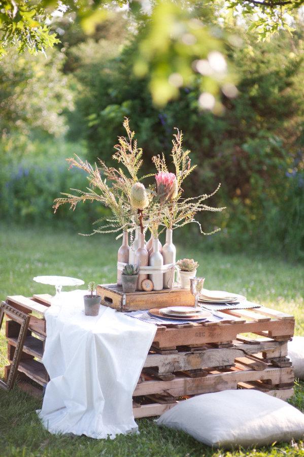 15 Wooden Pallet Wedding Ideas stylemepretty.com - whiteshutter.com