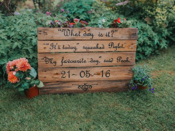 15 Wooden Pallet Wedding Ideas whimsicalwonderlandweddings.com - brookrosephotography.co.uk
