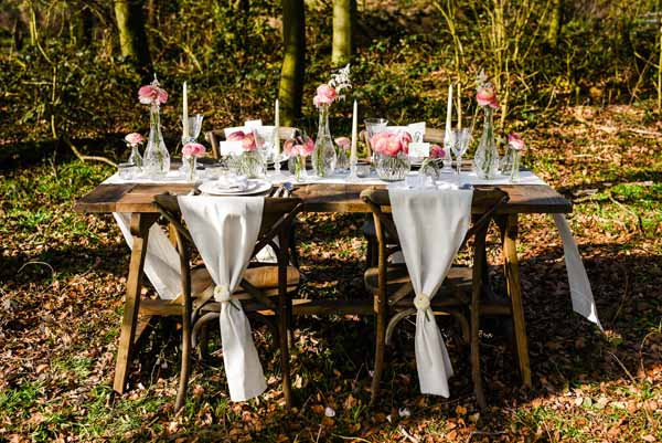 Elegant crystal and glass wedding decorations from the wedding of my dreams (1)