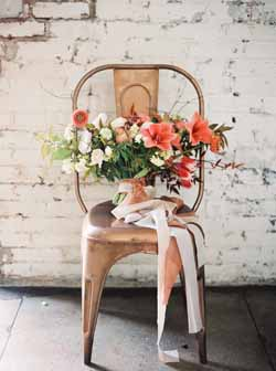 copper wedding ideas decorations