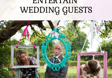 fun ideas to entertain wedding guests