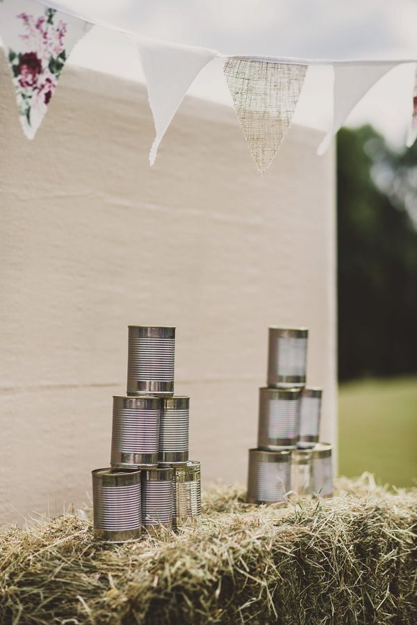 summer wedding fun ideas outdoor games The Wedding of my Dreams TIN CAN TOSS