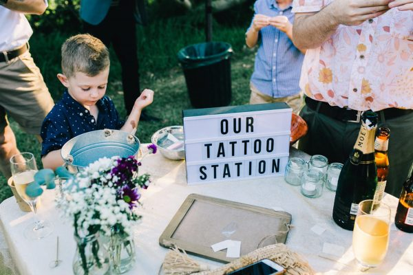 summer wedding fun ideas outdoor games The Wedding of my Dreams TATTOOS
