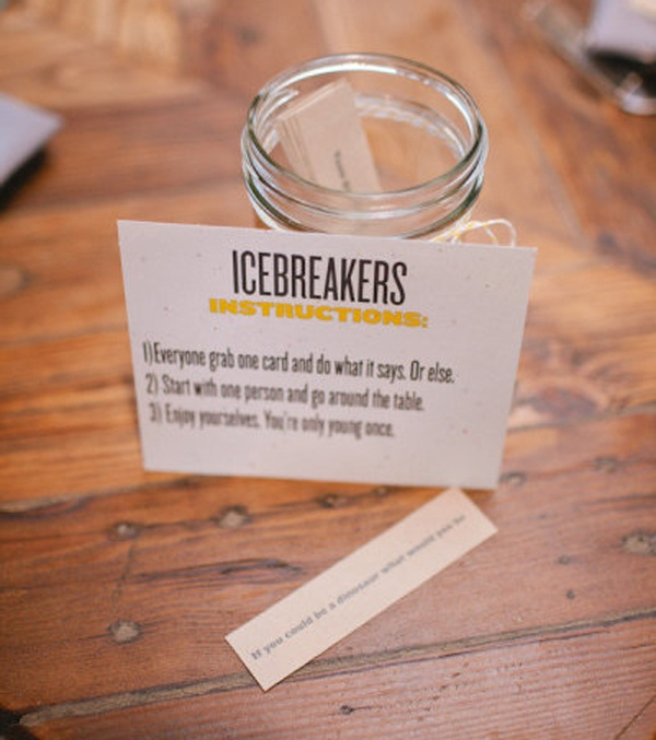summer wedding fun ideas outdoor games The Wedding of my Dreams ICE BREAKERS