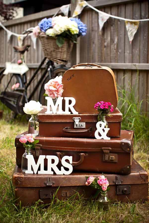 travel theme wedding ideas