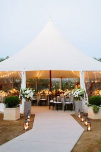 marquee wedding entrance ideas lanterns