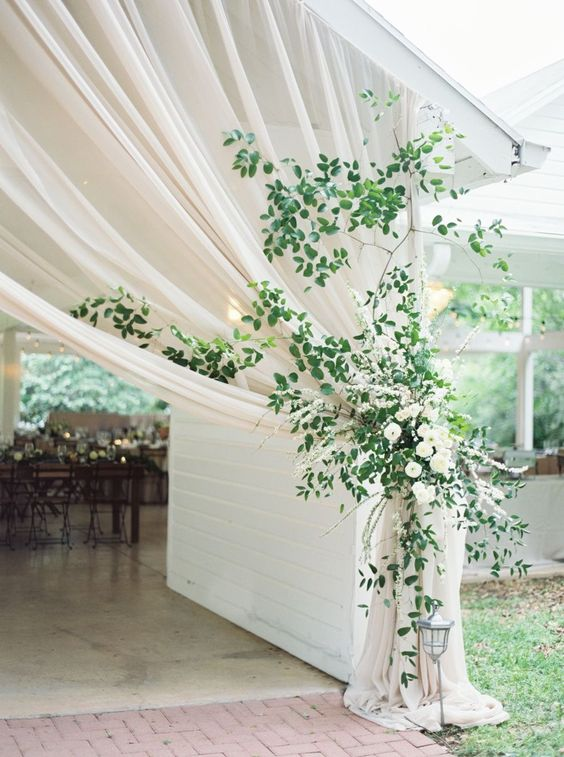 marquee wedding entrance ideas