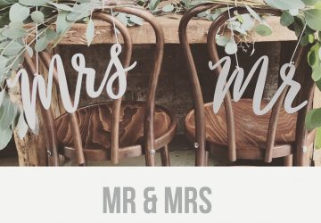 wedding chair signs - The Wedding of My Dreams: BLOG