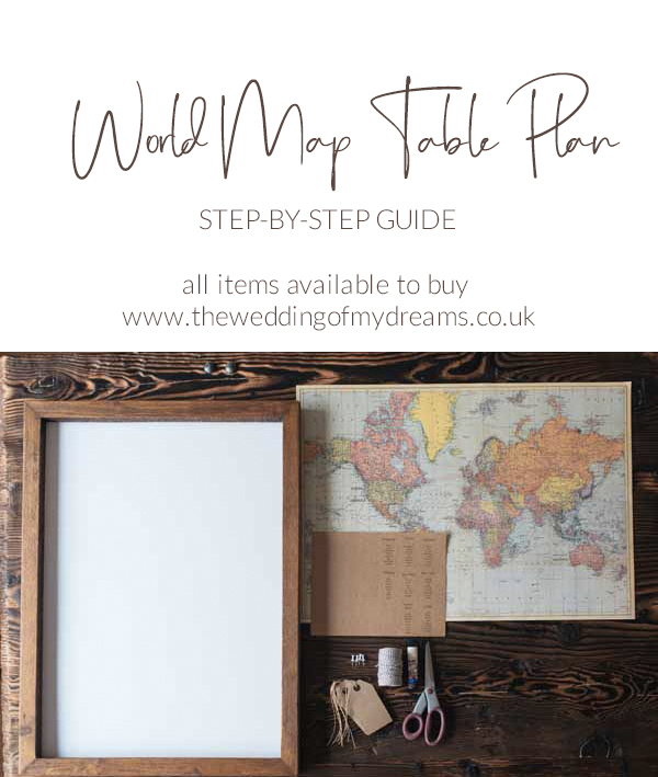 world map wedding table plans how to make