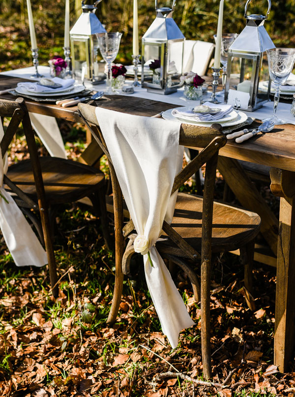 natural linen wedding chair backs weddings - table runners make chair sashes