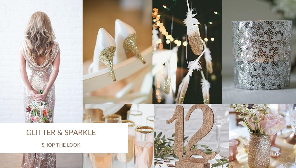Glitter_Sparkle_Gold_Silver_Wedding_Colour_Scheme_