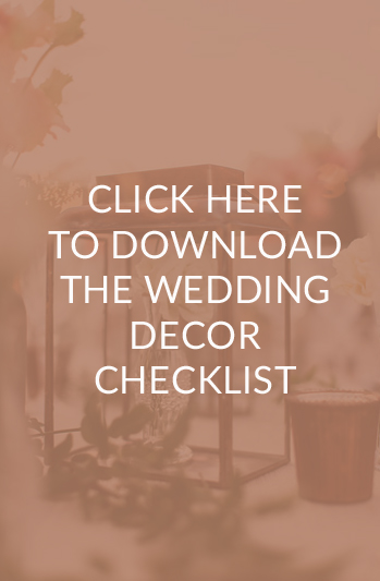 Click here to download the wedding decor checklist