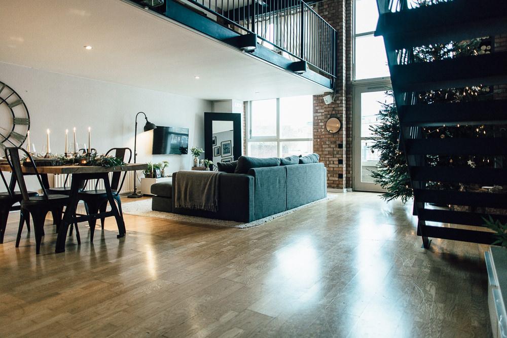 Industrial Living loft apartment (1)