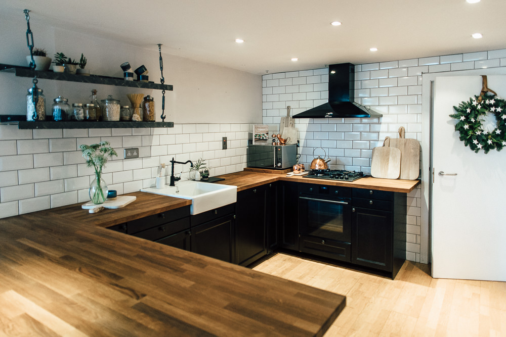 Industrial Living loft apartment Kitchen (49)