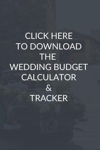Wedding Budget Calculator  Tracker