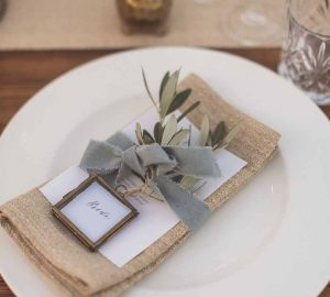 brass frames for wedding place cards
