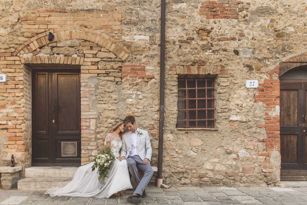 Wedding bagno vignoni Locanda In Tuscany Destination Wedding Gemma King