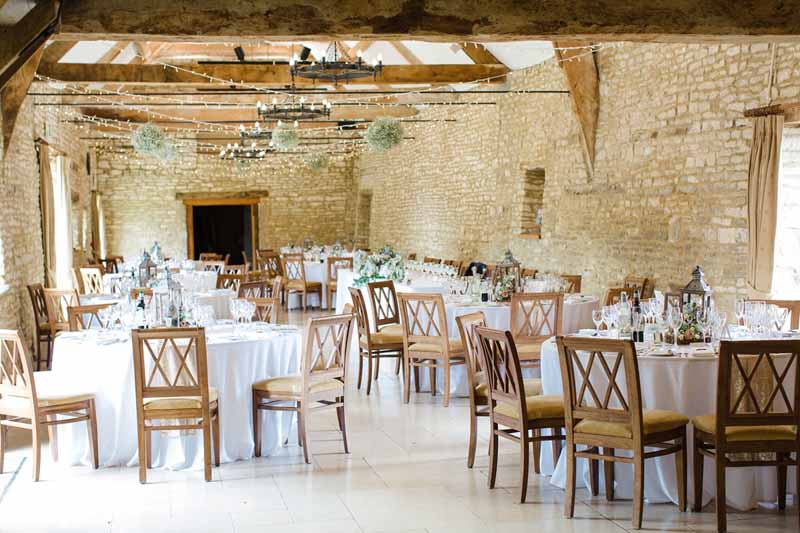 rustic barn wedding centrepieces