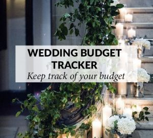 wedding budget tracker sq