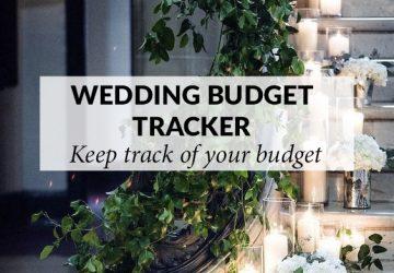 wedding budget tracker sq