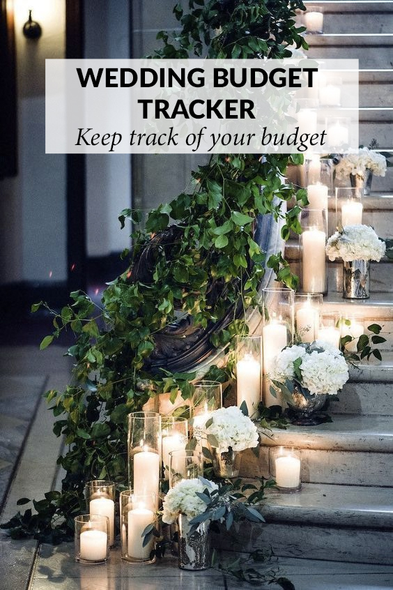 wedding budget tracker