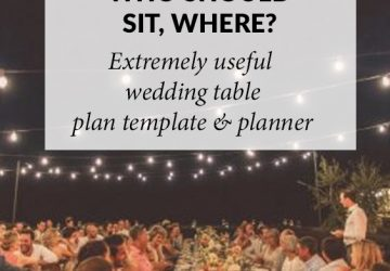 wedding table plan template and planner download