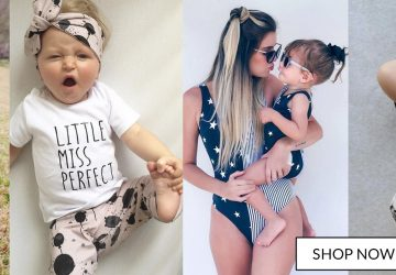 Little Miss Perfect baby girl outfit Mama and baby matching Bluebelle Loves