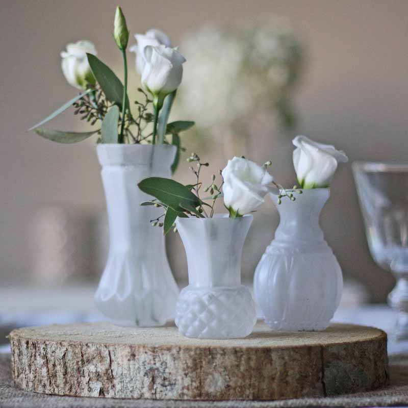 Wedding bud vases