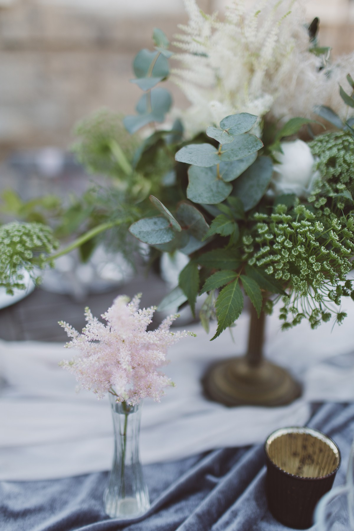 astilbe pink feathers wedding flowers french wedding