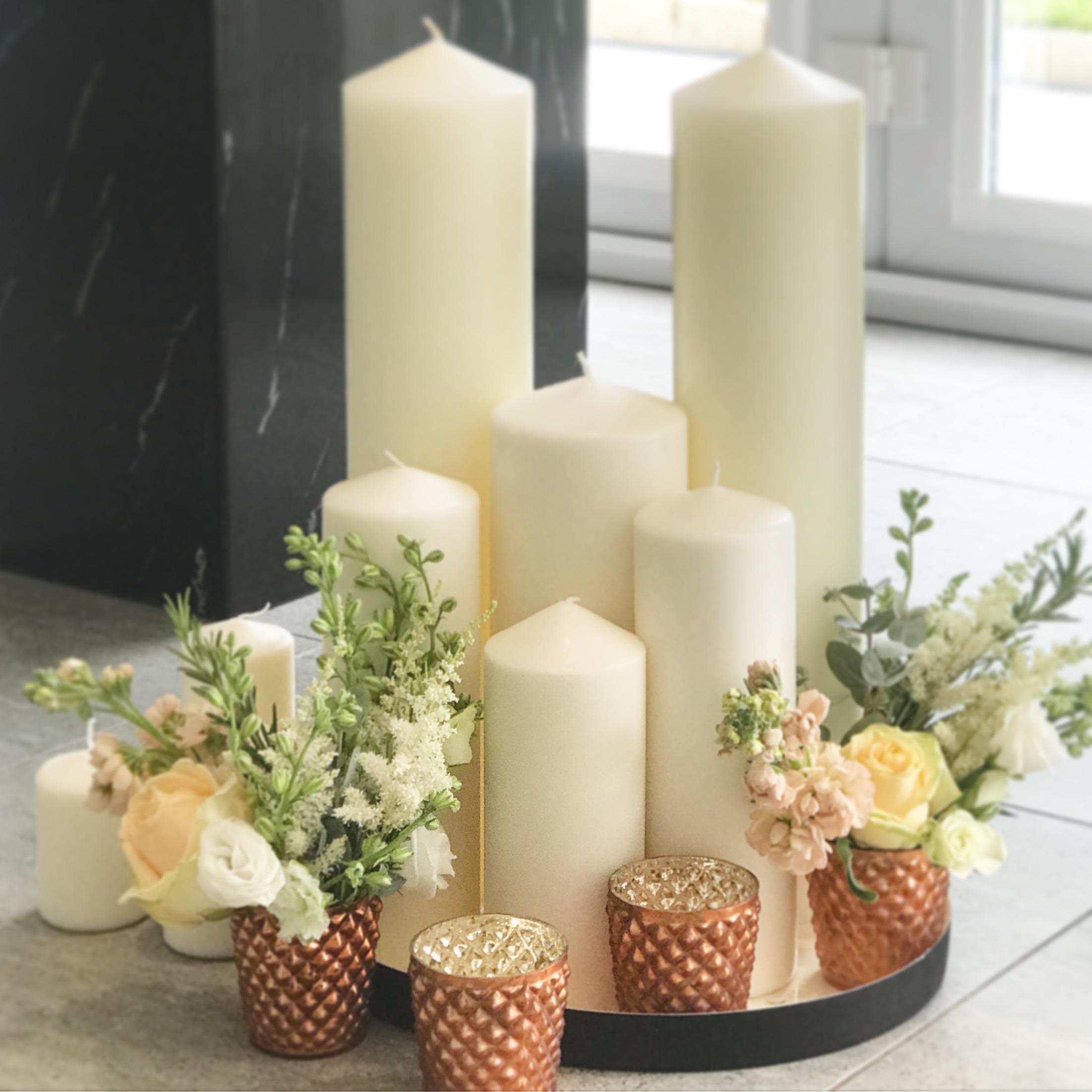 copper tea light holders The Wedding of my Dreams