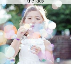 kids wedding activities