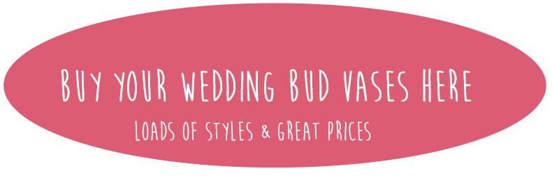 wedding bud vases for sale