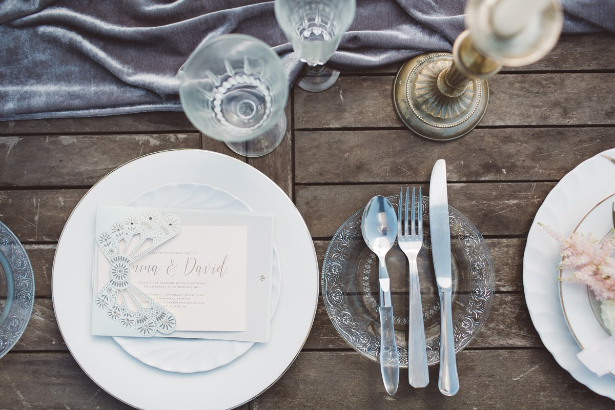wedding place settings french wedding ideas