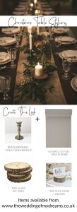 Farmhouse Rustic CHRISTMAS TABLE STYLING