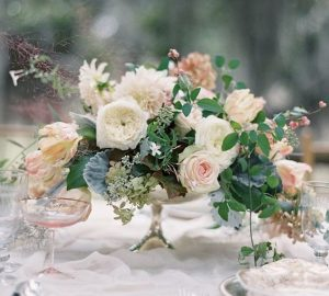 low wedding centrepieces footed bowls the wedding of my dreams
