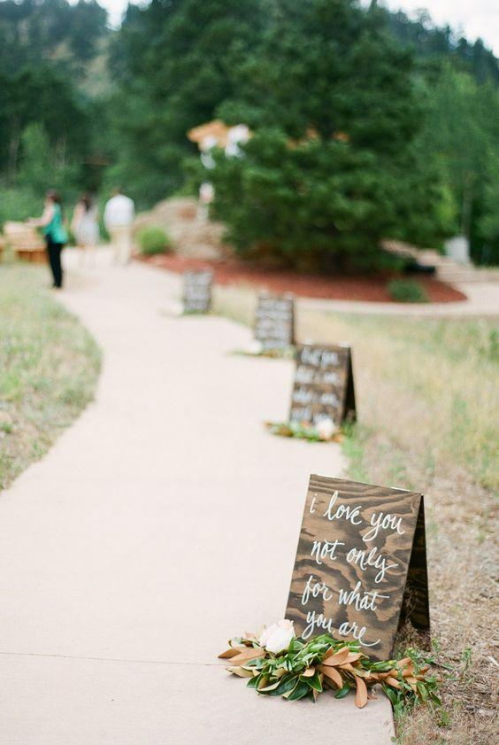 wedding ceremony signs The Wedding of my Dreams (2)