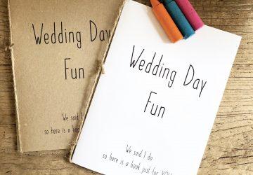 childrens wedding activity books download