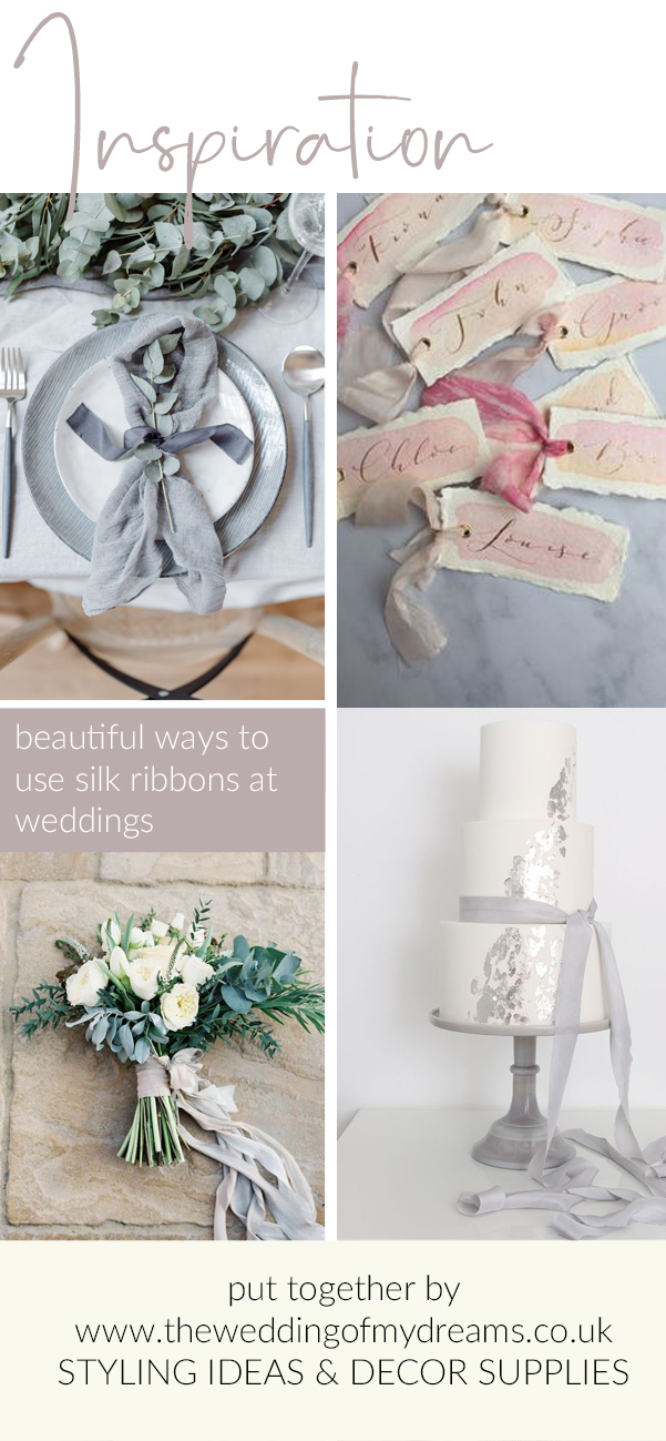 silk ribbon wedding styling ideas from the wedding of my dreams