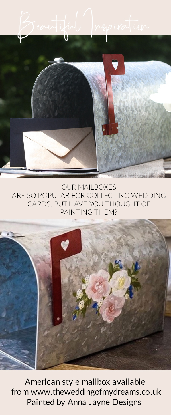 wedding mailboxes for wedding cards hand painted available The Wedding of my Dreams