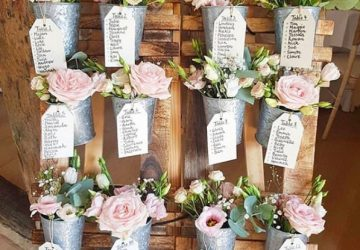 Rustic wooden wedding table plans available from The Wedding of my Dreams 2