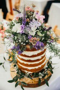 wildflowers wedding cake ideas