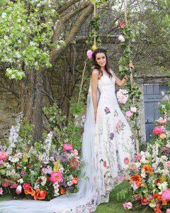 wildflowers wedding styling