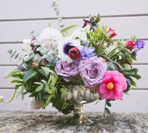 Footed bowl wedding centrepieces The Wedding of my Dreams
