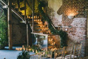 barn wedding ceremony ideas inspiration candles everywhere