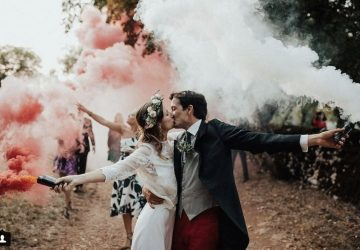 wedding smoke bombs couples photos - for sale here