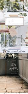 acrylic wedding decor for sale acrylic table numbers post boxes 2