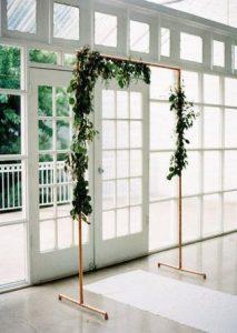 copper-weddin-arch-drapes